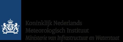 Logo Koninklijk Nederlands Meteorologisch Instituut | Ministerie van Infrastructuur en Waterstaat