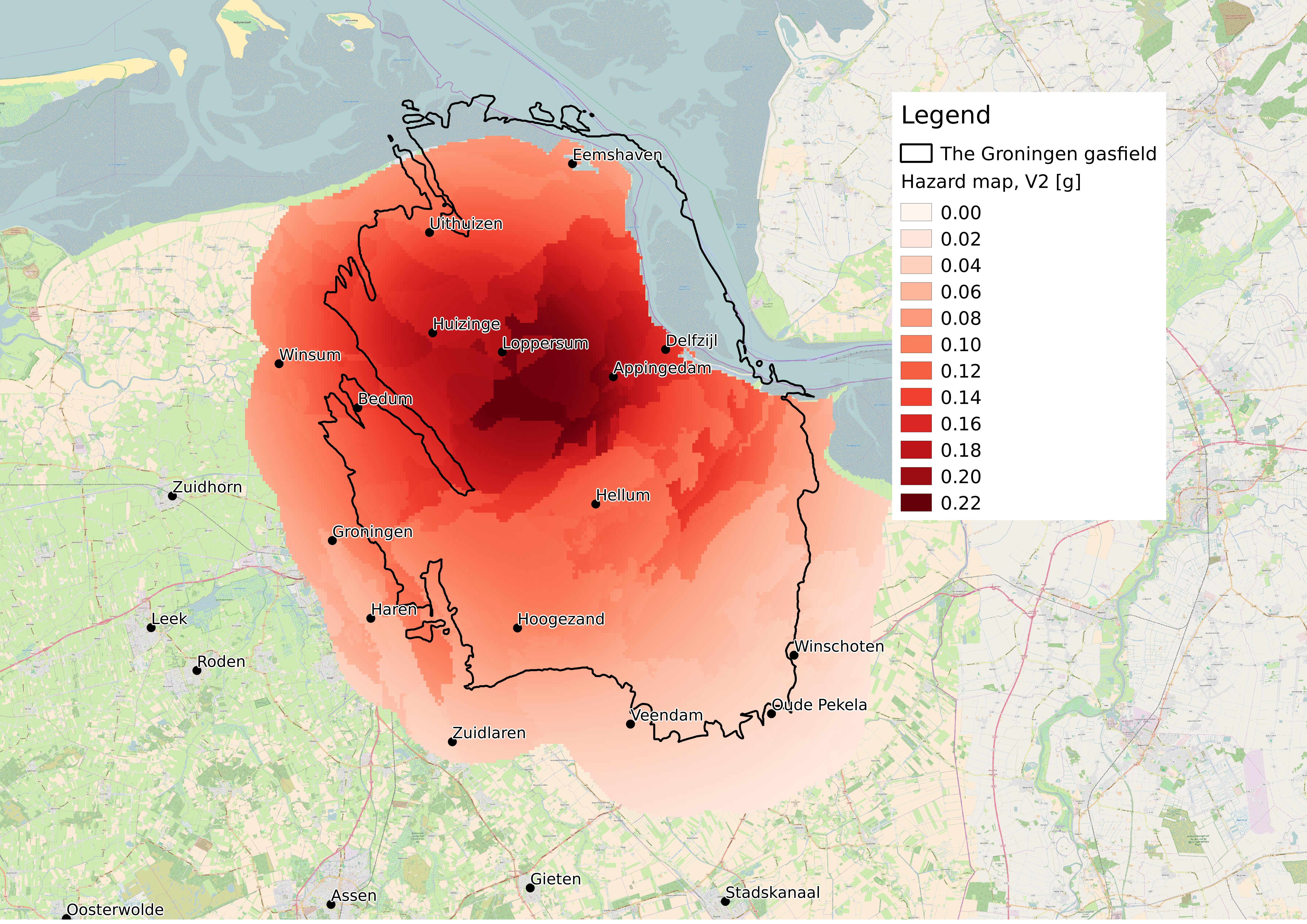Knmi Nieuwe Hazardkaart Groningen Daling Seismische Dreiging