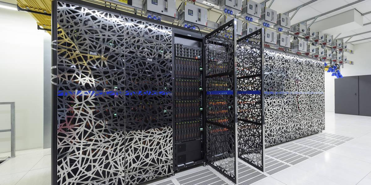 Dé supercomputer van het KNMI