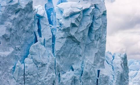 Ijsberg op antartica