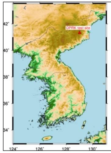 DPRK testsite
