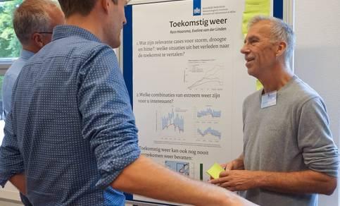 Rein Haarsma in gesprek met stakeholders