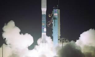 Figuur 3: Lancering van Aura op 15 juli 2004 vanaf de Vandenberg Air Force Base in Californië.