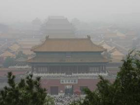 Smog in Beijing (Bron: Wikipedia)