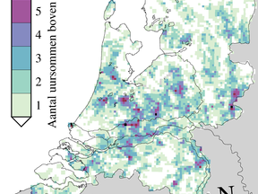 Radaranalyse wolkbreuken 2006 - 2015