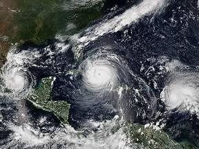 Orkanen Katia, Irma en Jose in 2017 in het Caribisch gebied
