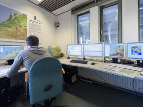 Seismologie afdeling ©KNMI/Tineke Dijkstra