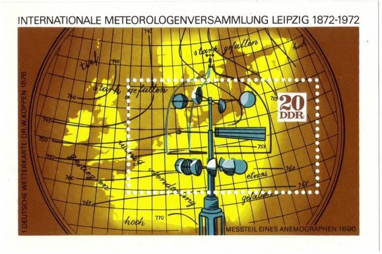 Tussen 14 en 16 augustus 1872 legde Buys Ballot de grondslag voor de synoptische meteorologie en het wereldomvattend netwerk van waarneemstations