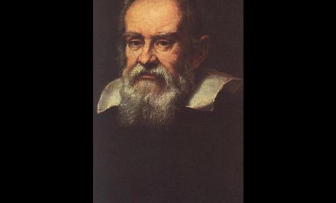 Een portret van Galileo Galilei (1564-1642)