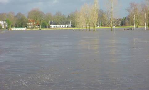 Overstroming december 2002 bij Breda
