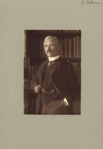 foto van Gustav Hellmann (1854 –1939), de bedenker van het koudegetal om de kou in het koude seizoen te kwantificeren