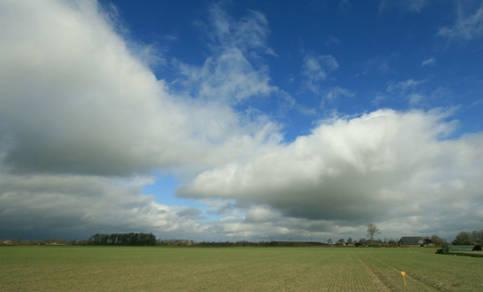 Afbeelding van een cumuluswolk