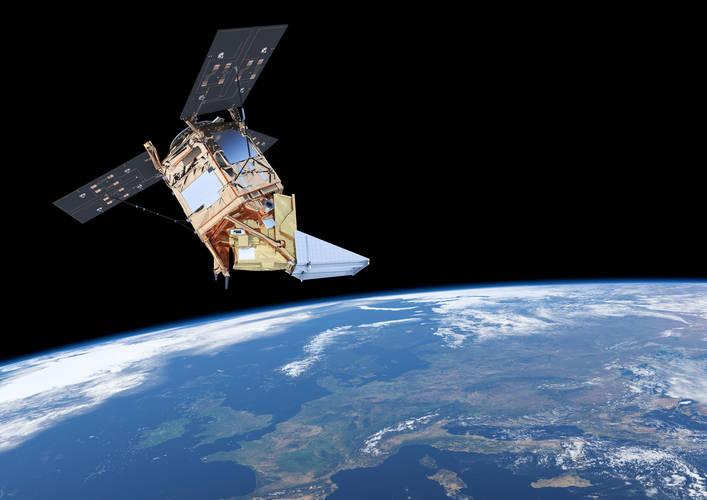 afbeelding van satelliet Tropomi
