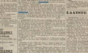 krant algemeen handelsblad van 23 januari 1864