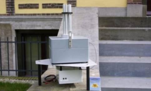 Microbarometer meten luchtdruk