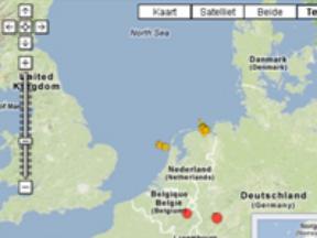 Natuurlijke aardbevingen in Nederland ©KNMI