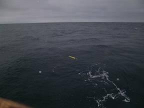 Argo float midden op zee