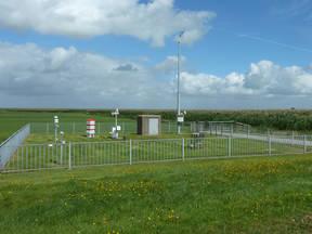 Automatisch weerstation Stavoren (Bron: Geuko Boog)