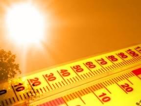 Hittegolf: in De Bilt minstens 5 dagen achtereen boven de 25 graden waarvan 3 boven de 30 graden