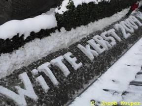 Sneeuw met Kerst. Helaas komt het niet heel vaak voor. Het laatst in 2009 en 2010.