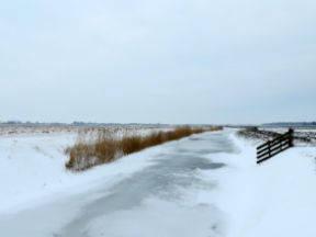 Sneeuw belemmert de aangroei van ijs (Bron: Jannes Wiersema)