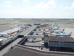Vliegtuigen op Schiphol (Bron: Yke Vuijk)
