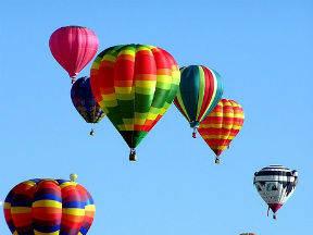 Voor de ballonvaart is weerinformatie erg belangrijk.
