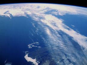 Straalstroom ten oosten van Canada (Bron: NASA)
