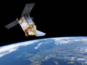 afbeelding van satelliet Tropomi (Bron: ESA)