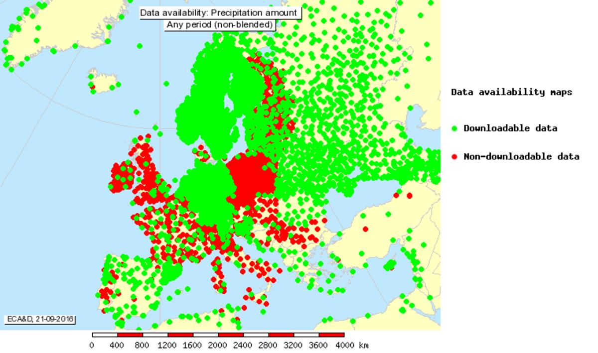 Knmi The European Climate Assessment Dataset