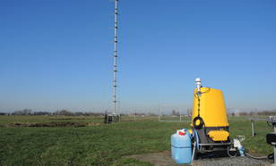 ZephIR 300M wind lidar at CESAR Observatory in Cabauw, the Netherlands.