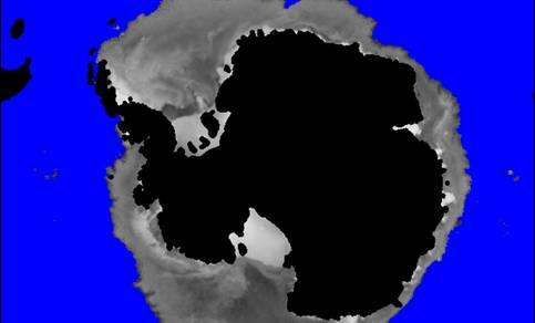 Sea ice Southern Hemisphere.