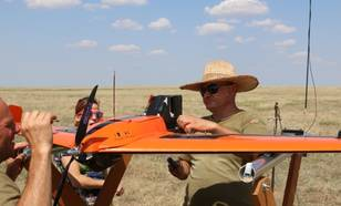 Sonde on Drone