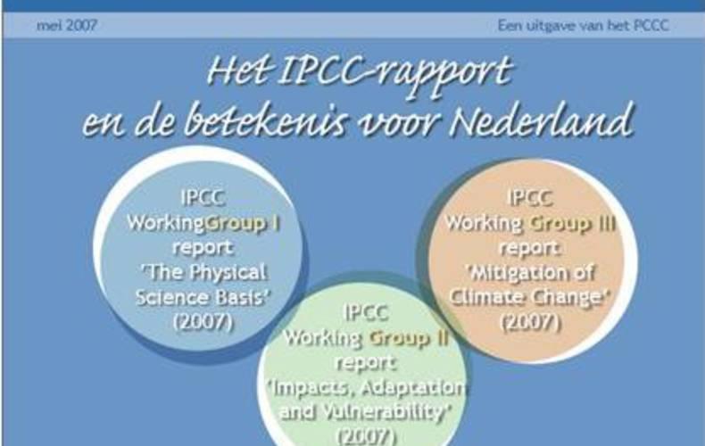 Knmi Het Ipcc Rapport En De Betekenis Voor Nederland