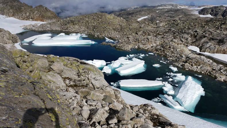 Folgefonna gletsjer Noorwegen (Foto Hogne Hundvebakke)