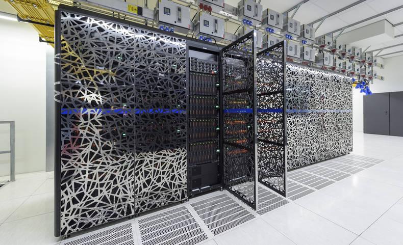 computerruimte van het KNMI