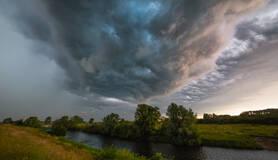 onweerswolk in brabant in juni 2019