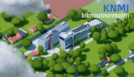 animatie van KNMI gebouw