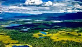 Alaska vanuit de lucht