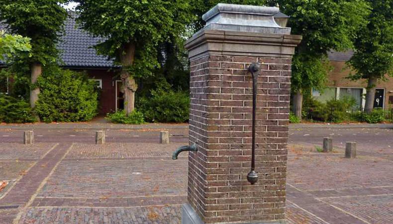 Waterpomp van Austerlitz