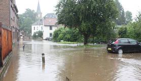 wateroverlast in mechelen in zuid-limburg