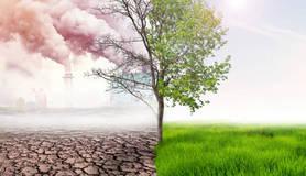 illustratie klimaatverandering