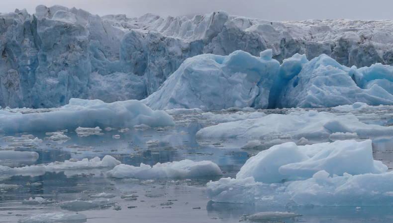 smeltend zeeijs op antarctica