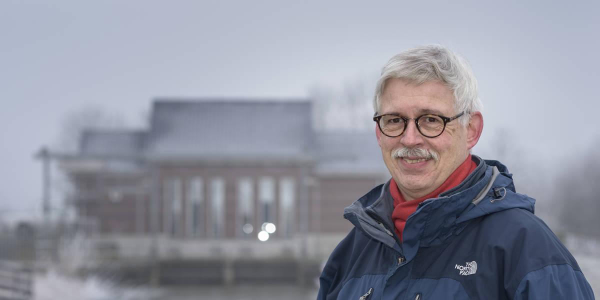 Rene van der Zwan van hoogheemraadschap van Rijnland