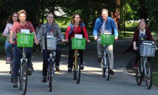 Fijnstof meten in Utrecht vanaf de fiets. ©KNMI