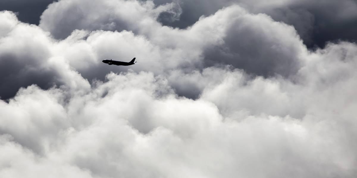 Luchtverkeersleiding aan het werk