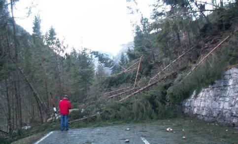 Kyrill op 18 januari 2007 was een van de zwaarste stormen van de laatste jaren (foto: Jacob Kuiper, WPI/KNMI)
