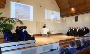 Inauguratie prof. Albert Klein Tank op donderdag 19 januari in Wageningen ©Fotografie Guy Ackermans