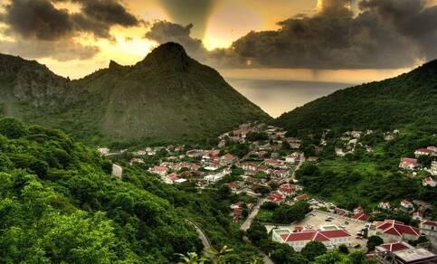 Saba, The Bottom. Foto: Wikipedia
