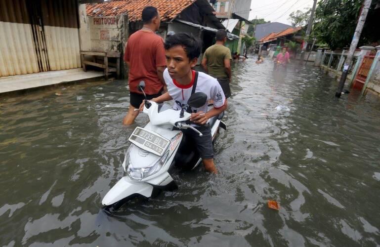 Overstroming in Indonesië